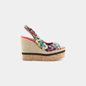 Missoni Footwear Slingback Wedge