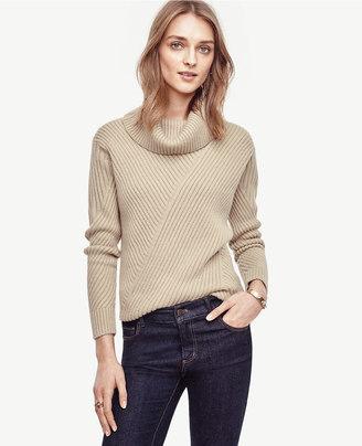 Aran Cowlneck Sweater $98 thestylecure.com