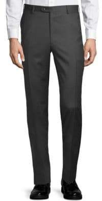 Brioni Slim-Fit Classic Wool Trousers