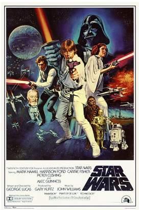 Art.com Star Wars Episode IV New Hope Movie Poster Wall Art