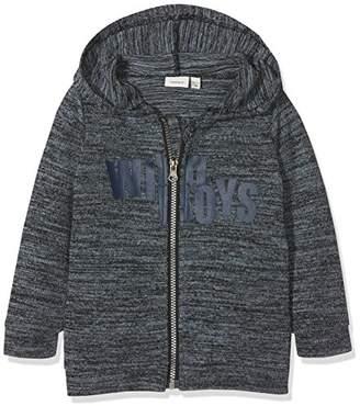 Name It Boy's Nmmlari Ls Knit Card W. Hood Cardigan,(Manufacturer Size: 92)