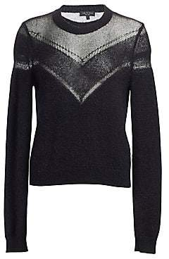 Rag & Bone Women's Blaze Lurex Knit Sweater