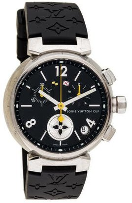 Louis Vuitton Tambour Lovely Cup Watch $1,995 thestylecure.com