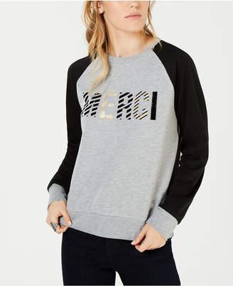 Carbon Copy Merci Colorblocked Sweatshirt