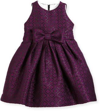 Helena Geo Jacquard Dress, Size 7-14