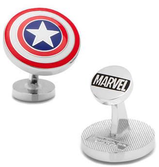 Cufflinks Inc. Captain American Shield Cuff Links