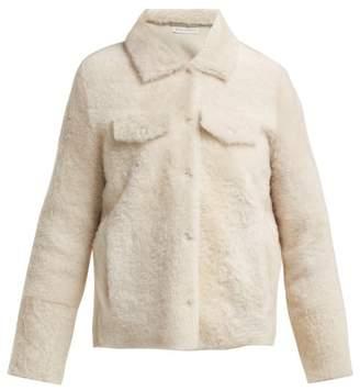 Inès & Marèchal Electre Shearling Jacket - Womens - White