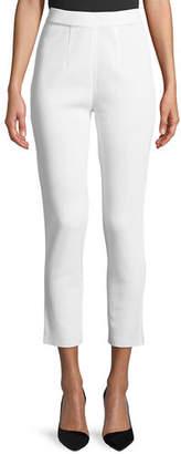 Misook Slim-Leg Knit Ankle Pants, Plus Size