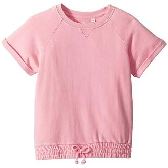 AG Adriano Goldschmied Kids Cheri Cinched Crewneck Top Girl's Clothing
