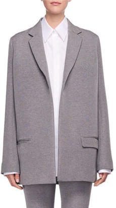 The Row Lohjen Open-Front Oversized Blazer Jacket