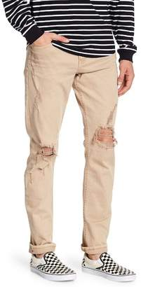 Cotton On & Co. Distressed Slim Fit Skinny Jeans
