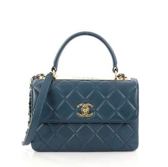 Chanel Business Affinity Leather Handbag
