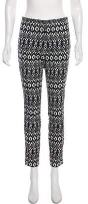 Diane von Furstenberg Printed Skinny Pants