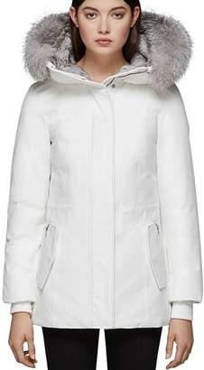 Mackage Danika-X Fox Fur Trim Down Coat