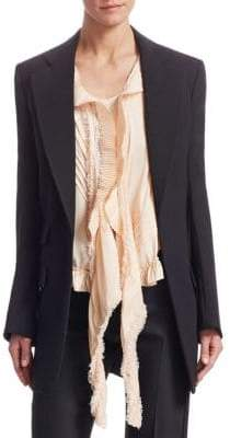 Chloé Tuxedo Long Blazer