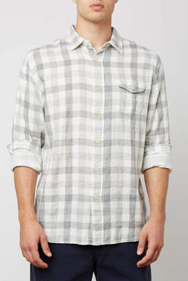 Grayers Durham Gingham Double Cloth Button Down Shirt