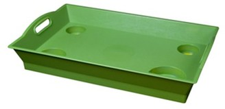 Little Butler Large Serving Tray pack of 6 Key Lime