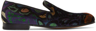 Paul Smith Multicolor Velvet Rudyard Loafers