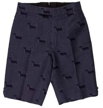 Thom Browne Flat Front Shorts