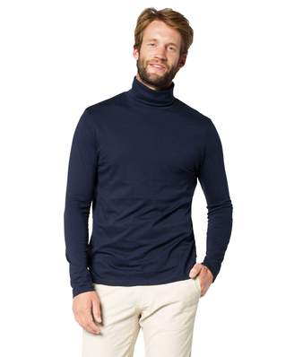 e04108c43929 at Amazon Canada · Elegance123 Men s Roll Neck Soft Cotton Long-Sleeve Tops