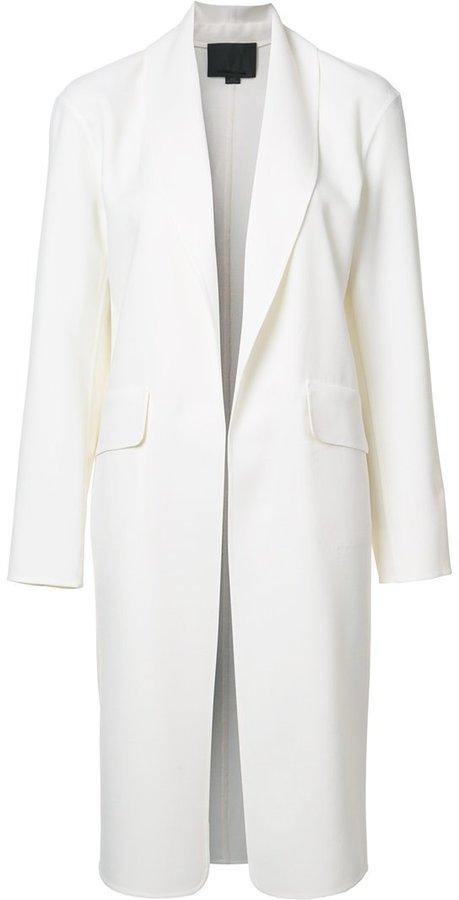 Alexander WangAlexander Wang shawl collar coat