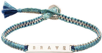 The Brave Collection Women's Woven ID Bracelet