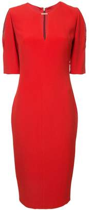 Ginger & Smart cut-out detail fitted dress