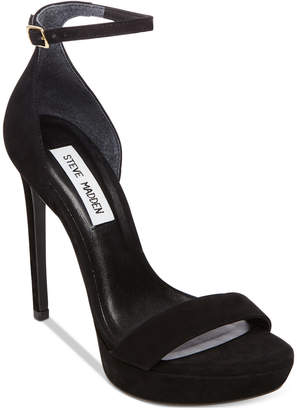 Steve Madden Women Starlet Two-Piece Platform Dress Sandals