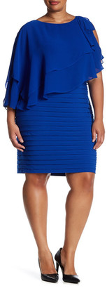 Adrianna Papell Cascading Dress (Plus Size) $180 thestylecure.com