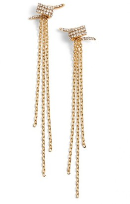 Women's Jules Smith Fringe Earrings $60 thestylecure.com