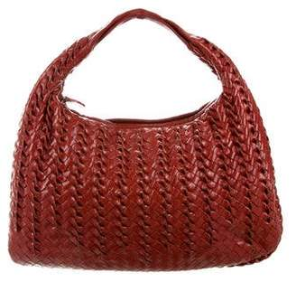 Bottega Veneta Intrecciato Twist Hobo Bag