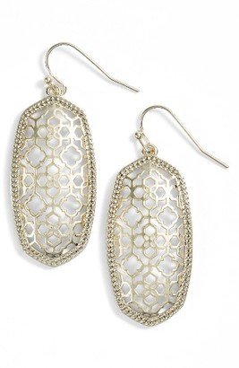 Women's Kendra Scott Elle Openwork Drop Earrings $60 thestylecure.com