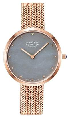 Br.Uno Söhnle Women's Analogue Quartz Watch with Stainless Steel Strap 17-63171-850