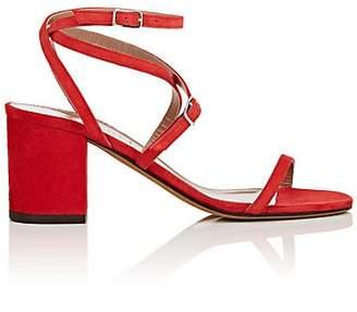 Alumnae Women's Suede Multi-Strap Sandals - Red