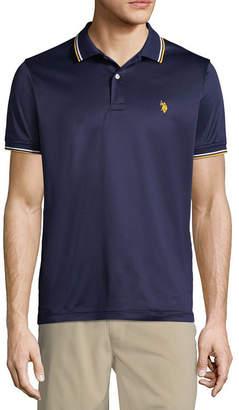 U.S. Polo Assn. USPA Mens Short Sleeve Polo Shirt