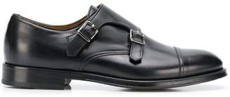 Doucal's side buckle fastened loafers