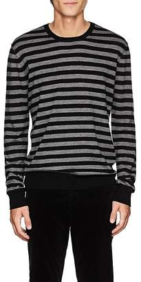 ATM Anthony Thomas Melillo Men's Striped Merino Wool Crewneck Sweater