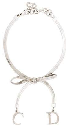 Christian Dior Bow Charm Bracelet