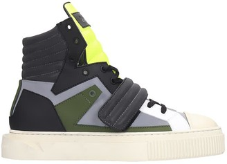Gienchi Hypnos Sneakers In Multicolor Rubber/plasic