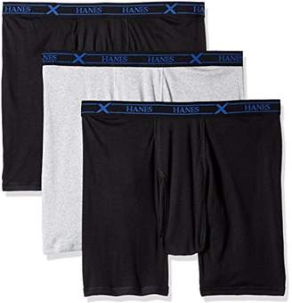 Hanes Men's Boxer Briefs Pack of 3