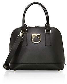 Furla Women's Small Fantastica Dome Leather Bag