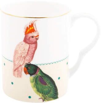 Yvonne Ellen - Parrot & Cockatoo Bone China Mug