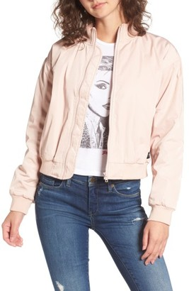 Women's Obey Mako Bomber Jacket $99 thestylecure.com
