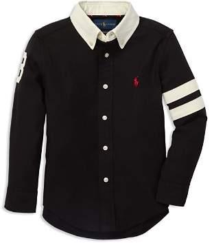 Ralph Lauren Boys' Performance Oxford Shirt - Little Kid