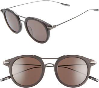 Salt Taft 50mm Polarized Round Sunglasses