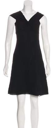 Chaiken Silk Sleeveless Mini Dress
