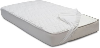 Simmons Kids Silver DualCool Technology Fitted Crib Mattress Pad Cover