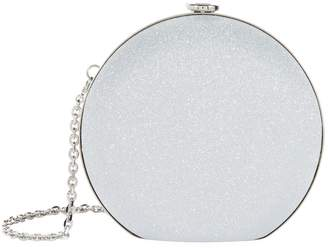 Salvatore Ferragamo Pallina Sparkle Cocktail Clutch Bag
