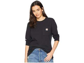 Carhartt WK126 Workwear Pocket Long Sleeve T-Shirt