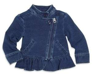 Splendid Baby Girl's Asymmetric Denim Jacket